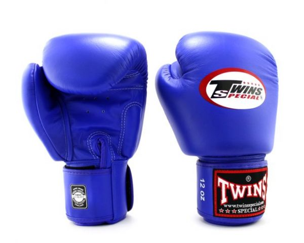 Twins Boxing Gloves-BGVL-3 Blue