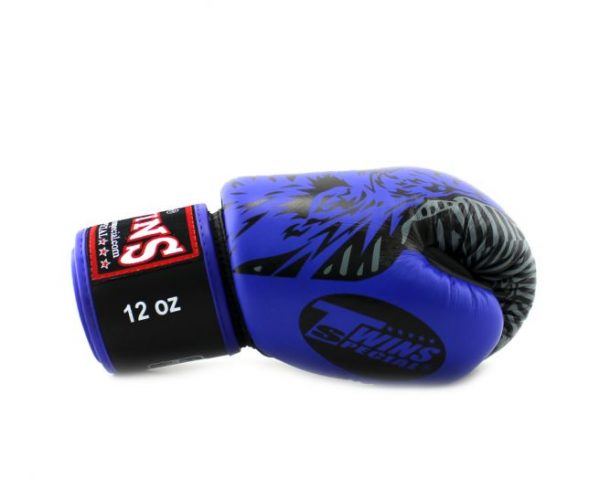 Twins FBGV50 Boxing Gloves Blue Wolf Collection