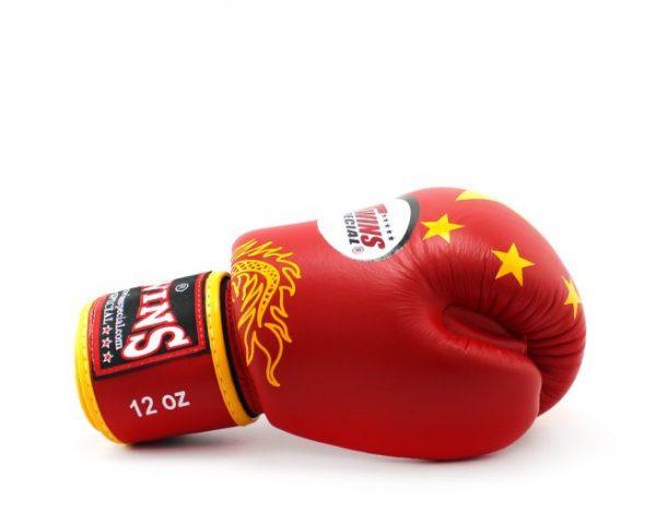 Twins Boxing Gloves-FBGV-44 China Flag