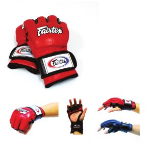 Fairtex Ultimate Combat MMA Gloves with Open Thumb Loop - FGV12