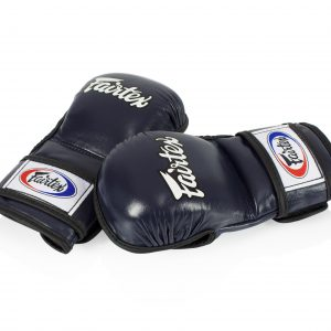 Fairtex - FGV15 Double Wrist Wrap Closure MMA Blue Sparring Gloves