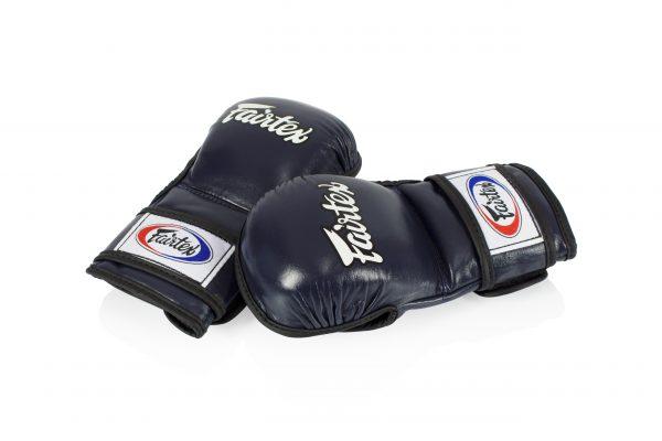 Fairtex - FGV15 Double Wrist Wrap Closure MMA Blue Sparring Gloves