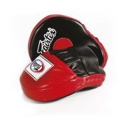 Fairtex FMV9 Contoured Focus Mitts-Black Red