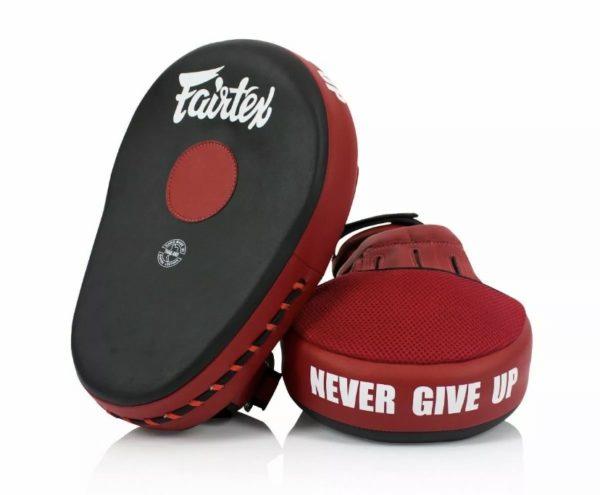 Fairtex FMV13 Maximized Focus Mitts- Red/Black