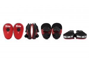 Fairtex FMV13 Red/Black Maximized Focus Mitts