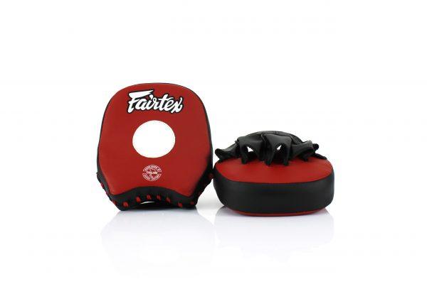 Fairtex FMV14 Red/Black Short Focus Mitts