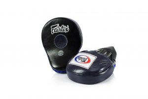 Fairtex FMV9 Focus Mitts-Black Blue