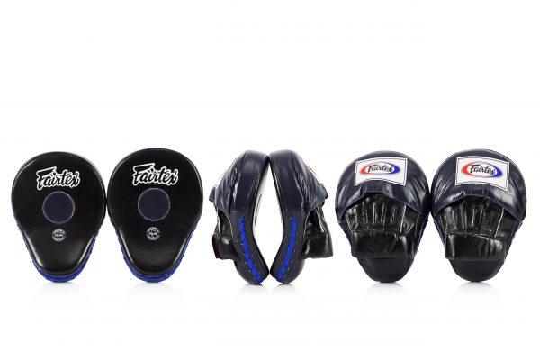 Fairtex FMV9 Black/Blue Contoured Focus Mitts