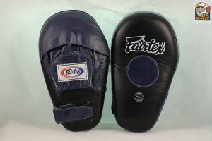Fairtex FMV8 Focus Mitts-Black/Blue