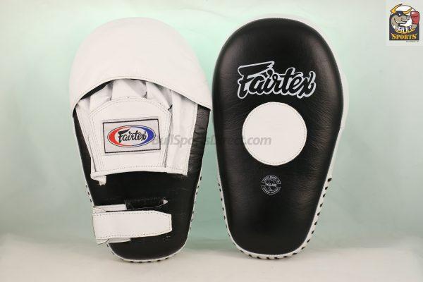Fairtex FMV8 Pro Angular Focus Mitts-Black White
