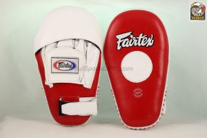 Fairtex FMV8 Red/White Focus Mitts
