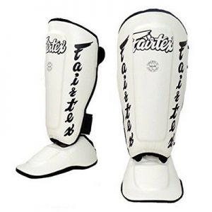 Fairtex-Shin Guard SP7 White