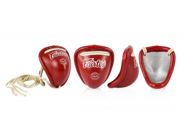GC2 Muay Thai Steel Cups-Red