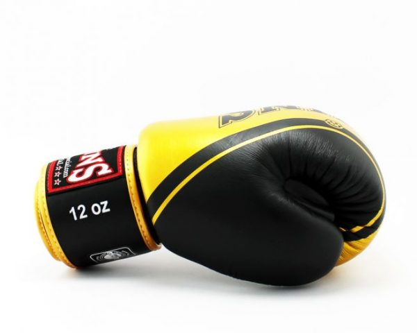 Twins Boxing Gloves-FBGV-TW4 Black Gold