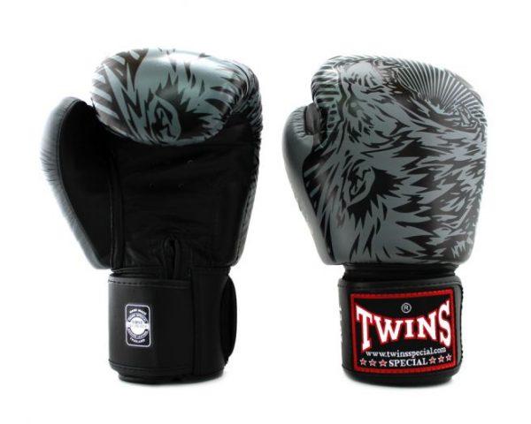 Twins FBGV-50-Wolf Grey Boxing Gloves
