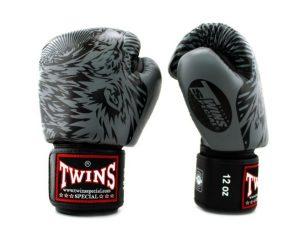 FBGV50 Boxing Gloves Grey Wolf- Twins