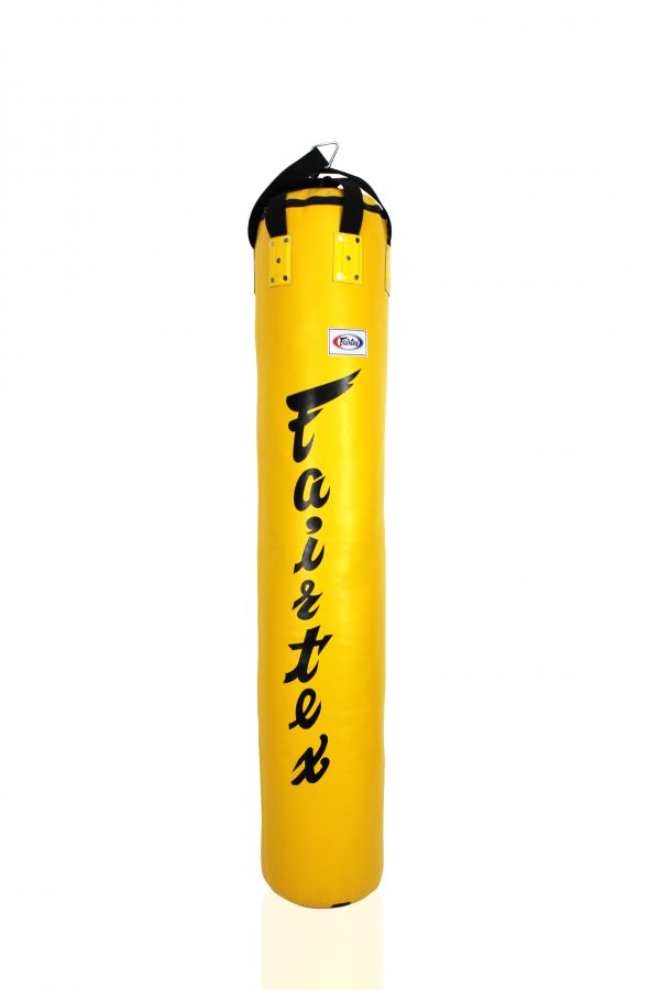 Fairtex-HB6-6FT Muay Thai Banana Bag-Yellow