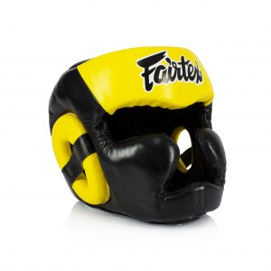 Fairtex Diagonal View Headguard-Full Cover