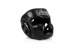 Fairtex HG13 Black Head Guard