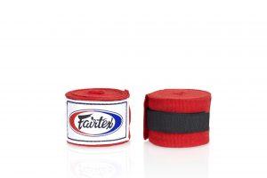 Fairtex -HW2 Hand Wraps Red