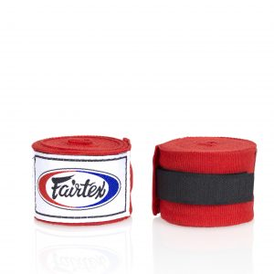 Fairtex -HW2 Hand Wraps Red