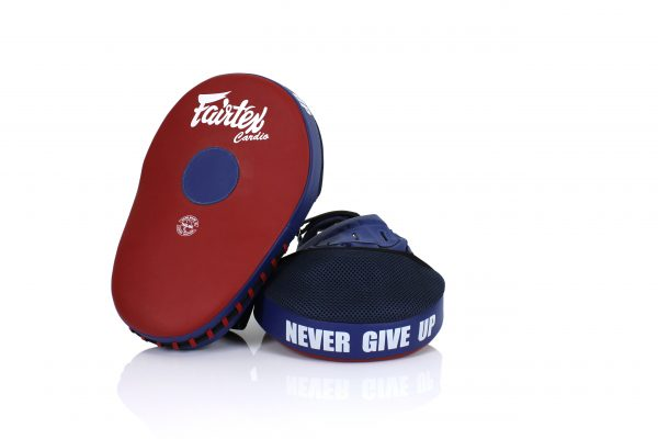 Fairtex FMV13 Red/Blue Focus Mitts