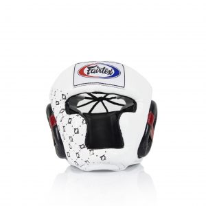 HG10 Super Sparring Head Guard-White