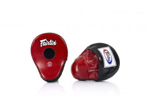 Fairtex FMV9 Black/Red Focus Mitts
