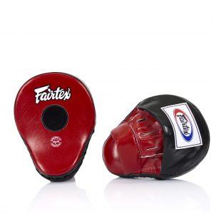 Fairtex FMV9 Black/Red Focus Mitts