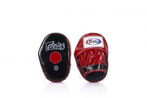 Fairtex FMV10 Red Black Classic Pro Mitts