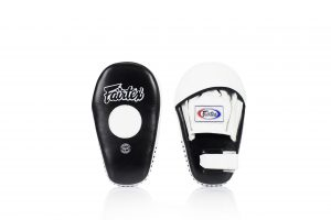 Fairtex FMV8 Focus Mitts-White Black
