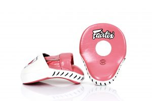 Fairtex FMV9 Pink/White Focus Mitts