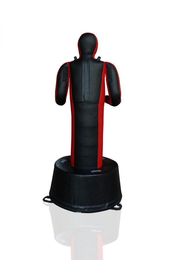 Fairtex-GD3-Black/Red- Standing-Back