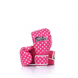 Fairtex Boxing Gloves Micro Fiber Vintage Art Polka Dot BGV14