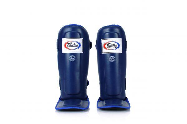 Blue Shin Pads-SPE3 Fairtex