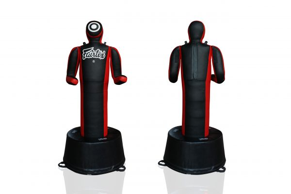 Fairtex-GD3-Black/Red Front and Back