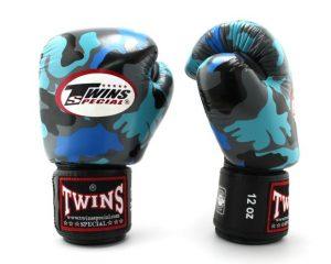 Twins Boxing Gloves-FBGV-Navy Blue