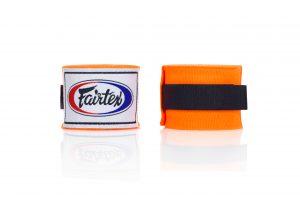 Fairtex Hand Wraps Orange-HW2