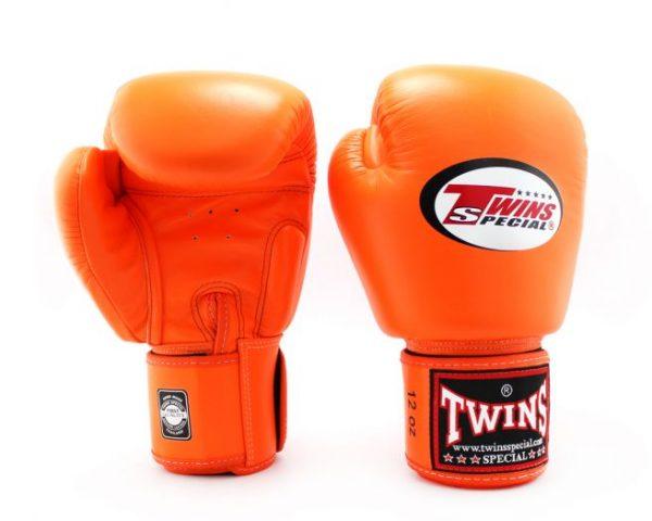 BGVL3 Orange Boxing Gloves - Twins