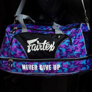 Fairtex BAG2- Gym Bag Camo Purple