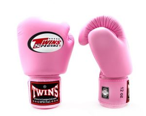 BGVL3 Pink Boxing Gloves- Twins