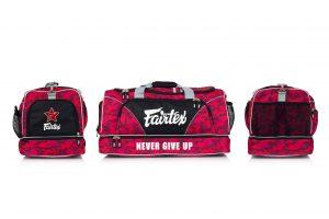 Fairtex Camo Red Gym Bag-BAG2