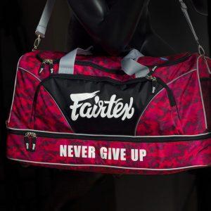 BAG2-Fairtex Camo Red Gym Bag