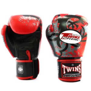 Twins Boxing Gloves-FBGV-36- Red Dragon Claws