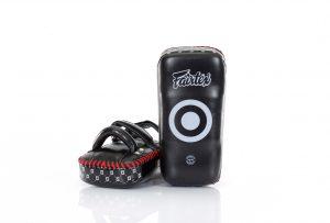 Fairtex Premium Curved Kick Pads-KPLS2