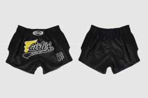Fairtex - BS1708 - Slim Cut Shorts -Front/Back