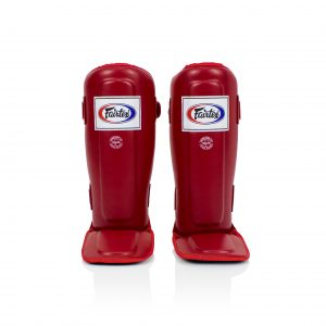 Shin Pads-SPE3 Red-Fairtex