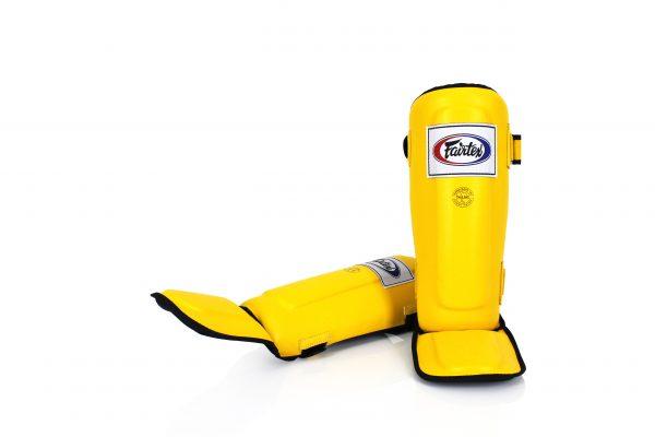 Yellow Shin Pads-SPE3-Fairtex