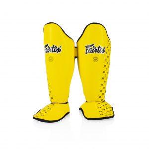 Fairtex-Yellow Shin Pads-SPE5