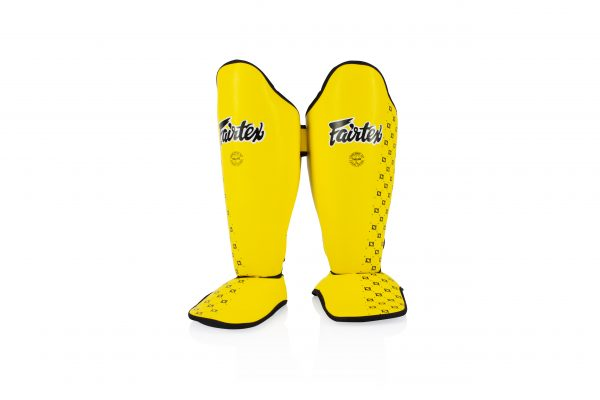 Fairtex-Yellow Shin Pads-SPE5